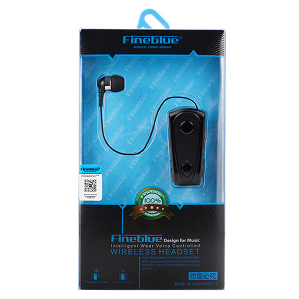 Bluetooth Handsfree Fineblue F900 Πετου Με Καλωδιο Περιελιξης Multipoint