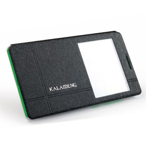 Θηκη Book KLD Iceland II Για Nokia XL Με Παραθυρο Μαυρη